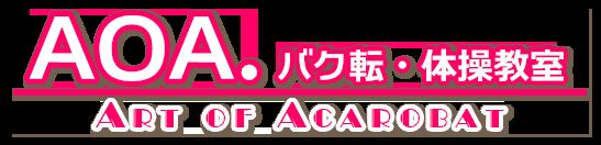 子供体操教室『AOA.バク転・体操教室』バク転・アクロバット 東京中野